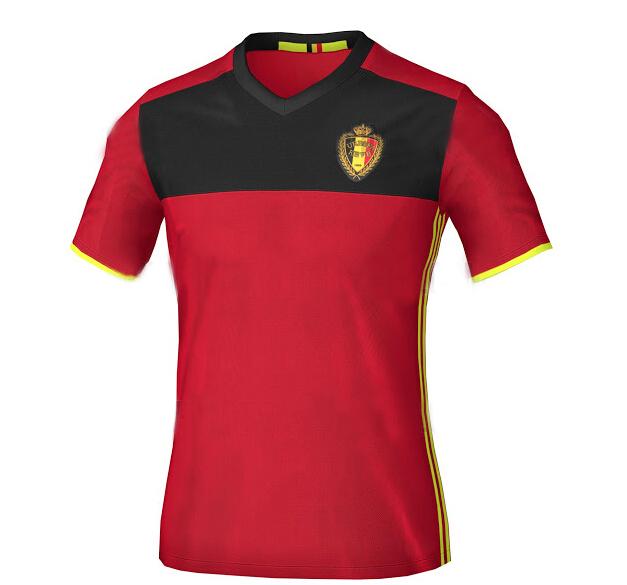 ce61316d Camiseta - de la Seleccion de Belgica, temporada 2016-2017 para jugar en  casa
